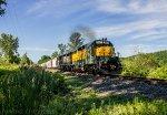Housatonic Railroad Train NX-12 at Lime Kiln Road