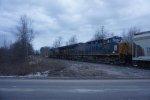 CSX 3415 trails on CSXT Q621-21