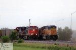 CN Power on BNSF