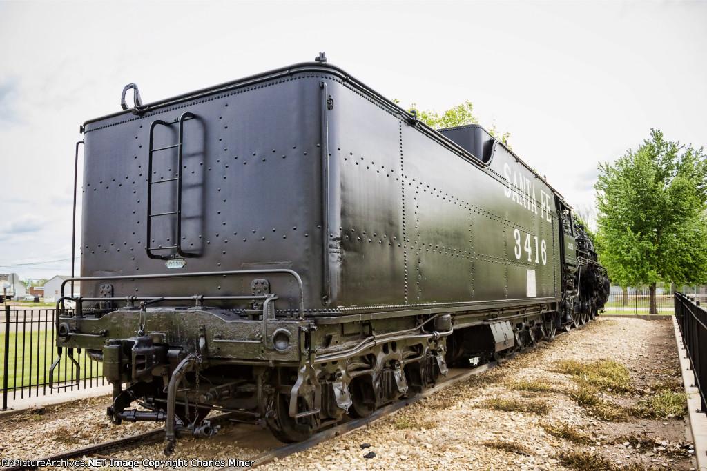 ATSF 3416 (Steam 4-6-2)