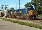 CSX 3168 heads south