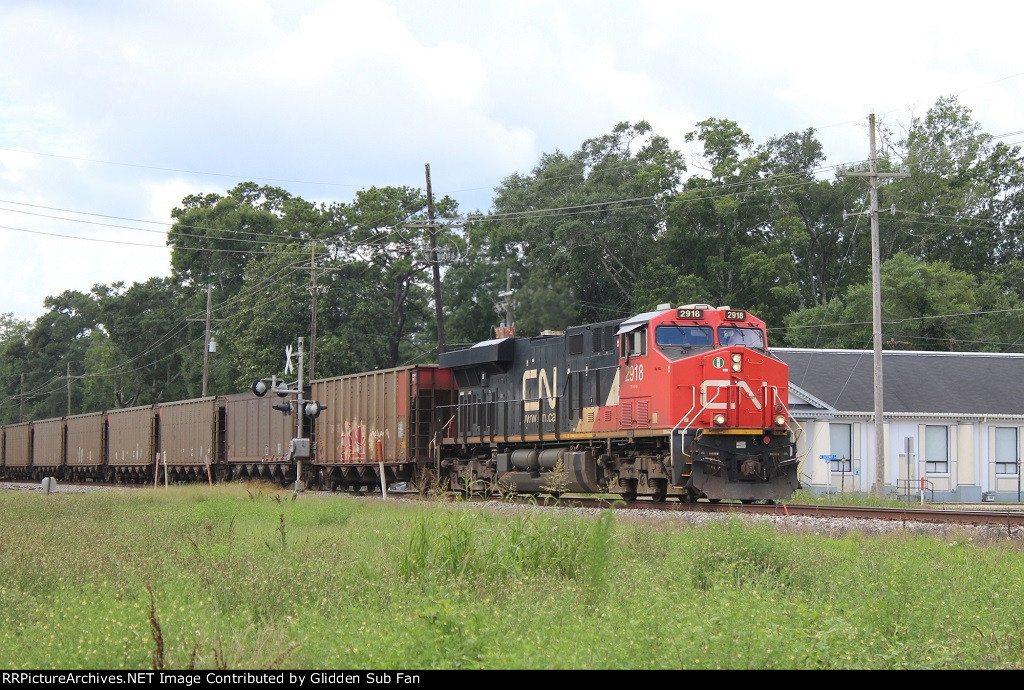 NB CN coal train