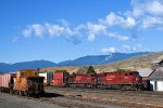CP 8838 8833 Through Ashcroft, BC