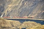 CN 2446 2571 EB through Black Canyon approaching Ashcroft, BC