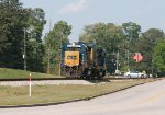 CSX GP40-2 6931 and mate 2255 run light