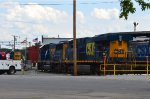 CSX 5216 and 8522