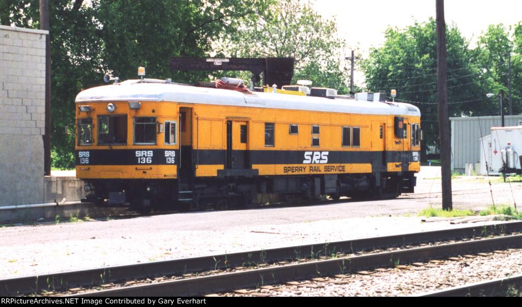 SRS Doodlebug #136 - Sperry Rail Service