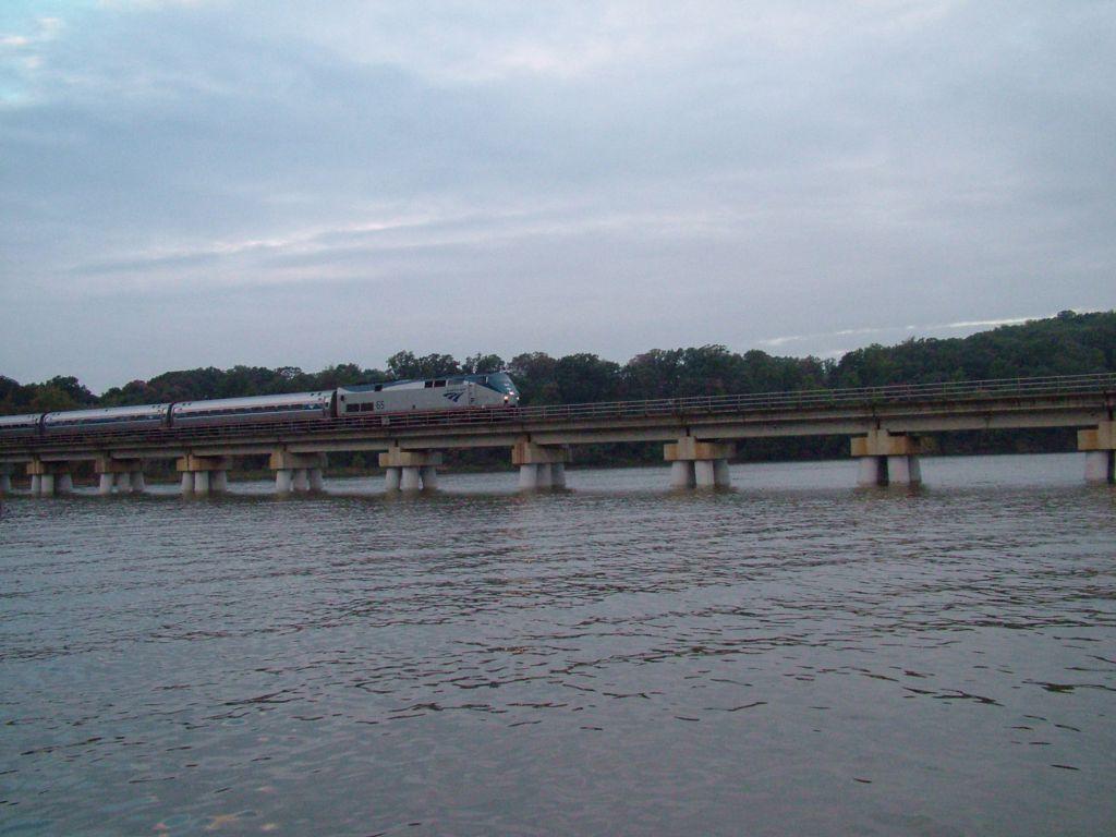 Crossing Quantico Creek