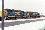 CSXT 2709 on CSX Q262