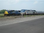 "CSX Q161-09 and Amtrak 281 ""Empire Service"""