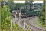 NS 1068 passes Berea aka BE Tower.