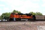 BNSF 9385 Leading