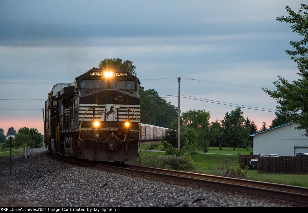 Late evening train