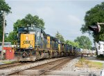 CSX 4058 is on the point of a huge lash-up!
