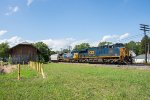 CSX 3121 and the old NYC depot
