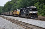 NS 1162 on NS Loaded Coal Train