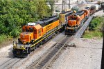 BNSF 1796 and other Yard Job