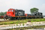 CN 7262 | EMD GP9RM | CN Johnston Yard
