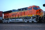 BNSF 3763 The Last Tier 4 ET44C4 Built for The BNSF Railway for There 2017 Locomotive Train Order.