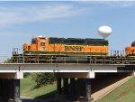 BNSF SD40-2 1702