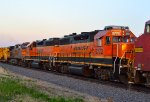 BNSF 2772, 2017, and 4300