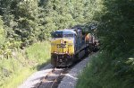 CSX 465 and 969 round the curve