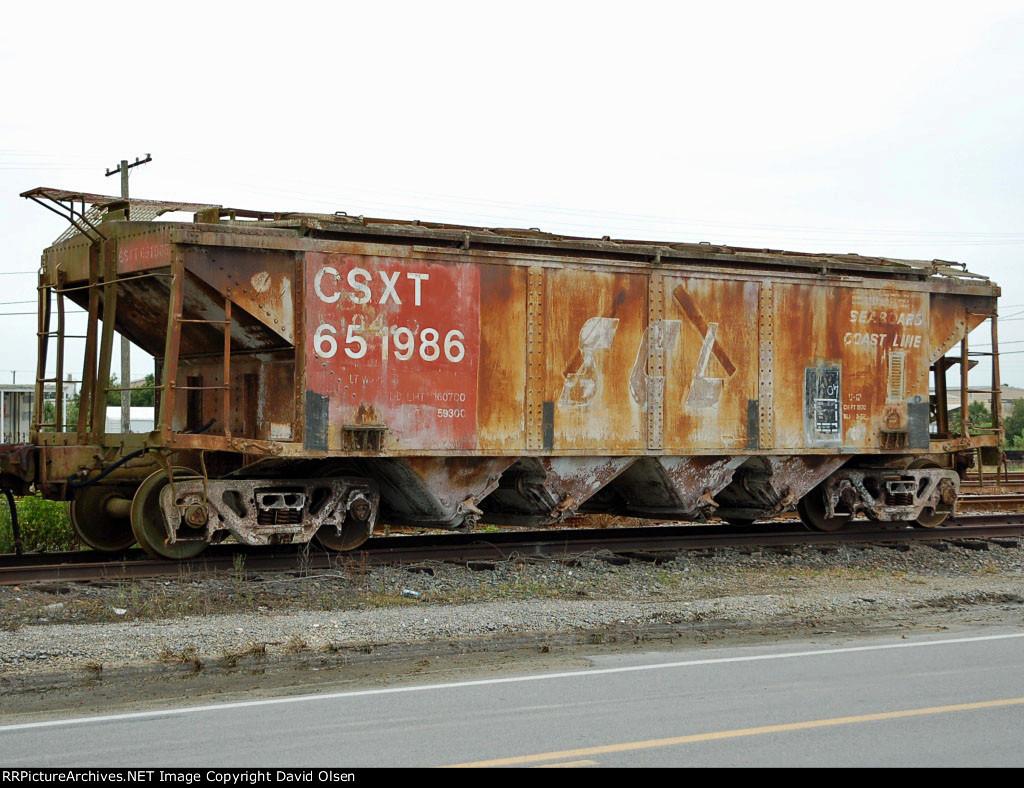 CSXT 651986