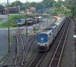 Amtrak Crescent leave Lynchburg