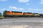 BNSF 1576 1691 2839 Working BNSF Saginaw Yard