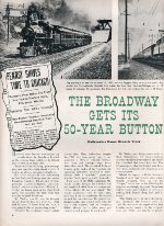 """Broadway Gets Its 50-Year Button,"" Page 6, 1952"