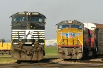 NS 9090 and UP 3872