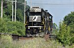 NS 6347 has cleared SR 91 on her way east.