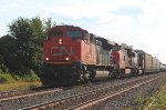 Eastbound mixed freight