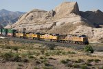 UP5266, UP3895, UP8874 and UP8397 passing Mormon Rocks