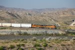 BNSF6144 and BNSF8329 near Mormon Rocks
