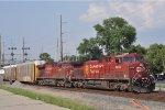 CP 8649 On CSX Q 231 Southbound
