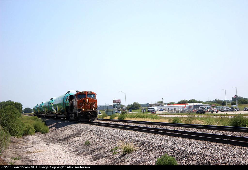 Westbound Boeing Train