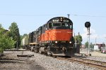 WNYP's Meadville to Falconer, NY job heads East over the BPRR diamond.