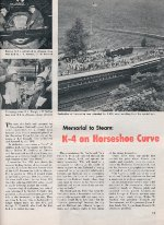 """K-4 on Horseshoe Curve,"" Page 15, 1957"