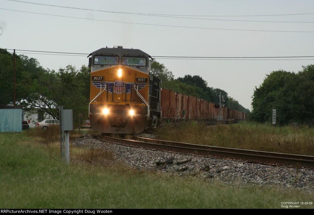 UP Empty Rock Train