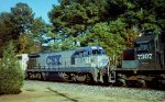 CSX 3123, far from home