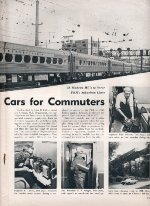 """New Cars for Commuters,"" Page 13, 1963"