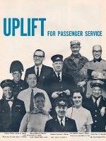 """Uplift For Passenger Service,"" Page 1, 1964"
