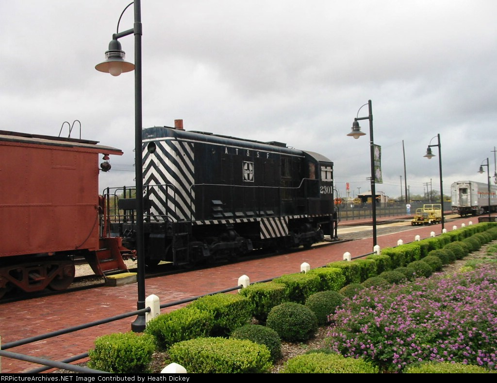 Santa Fe railroaid meseum Belton, TX