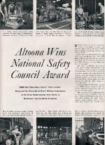 """""""National Safety Council Award,"""" Page 14, 1952"""