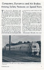 Metroliner Test Runs, Page 3, 1967