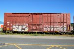 SRY 9025  50-6 ft Single Door Excess Height Boxcar (side A)