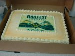 Railfest cake