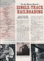 """""""On The Elmira Branch,"""" Page 14, 1953"""