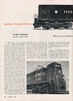 """Enter The E-44s,"" Page 22, 1961"